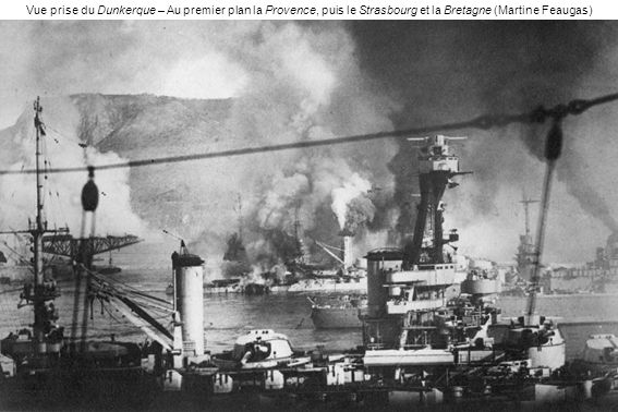Vue prise du Dunkerque – Au premier plan la Provence, puis le Strasbourg et la Bretagne (Martine Feaugas)