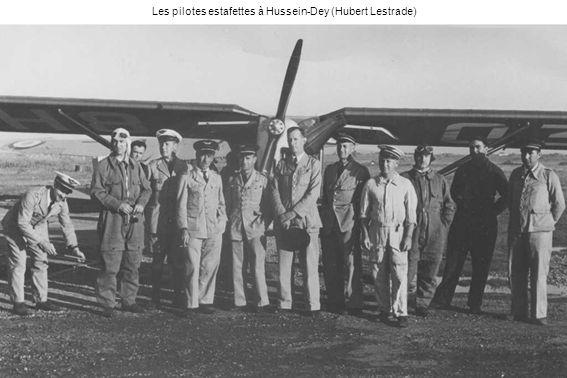 La guerre est finie, le 21 juin 1940 Henri Fouques Duparc rentre en Afrique du Nord avec un Potez 63 du GR I/22 (Françoise Fouques Duparc)