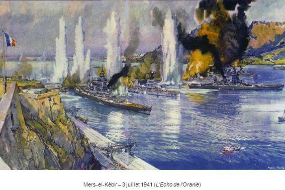 Mers-el-Kébir – 3 juillet 1941 (L'Echo de l'Oranie)