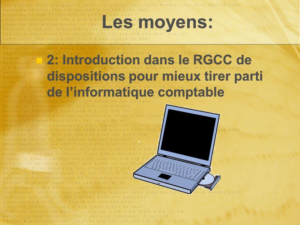 Le nouveau RGCC Sources dinformations: -Larrêté du Gouvernement Wallon du 5 juillet 2007 (moniteur 22/8/07) -La circulaire budgétaire 2008 -Le vade-mecum du nouvel RGCC et les pages du plan E-comptes en ligne sur le portail des pouvoirs locaux.