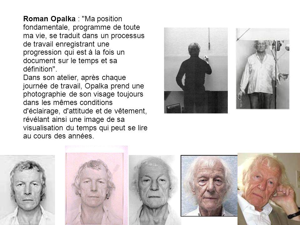 Roman Opalka :