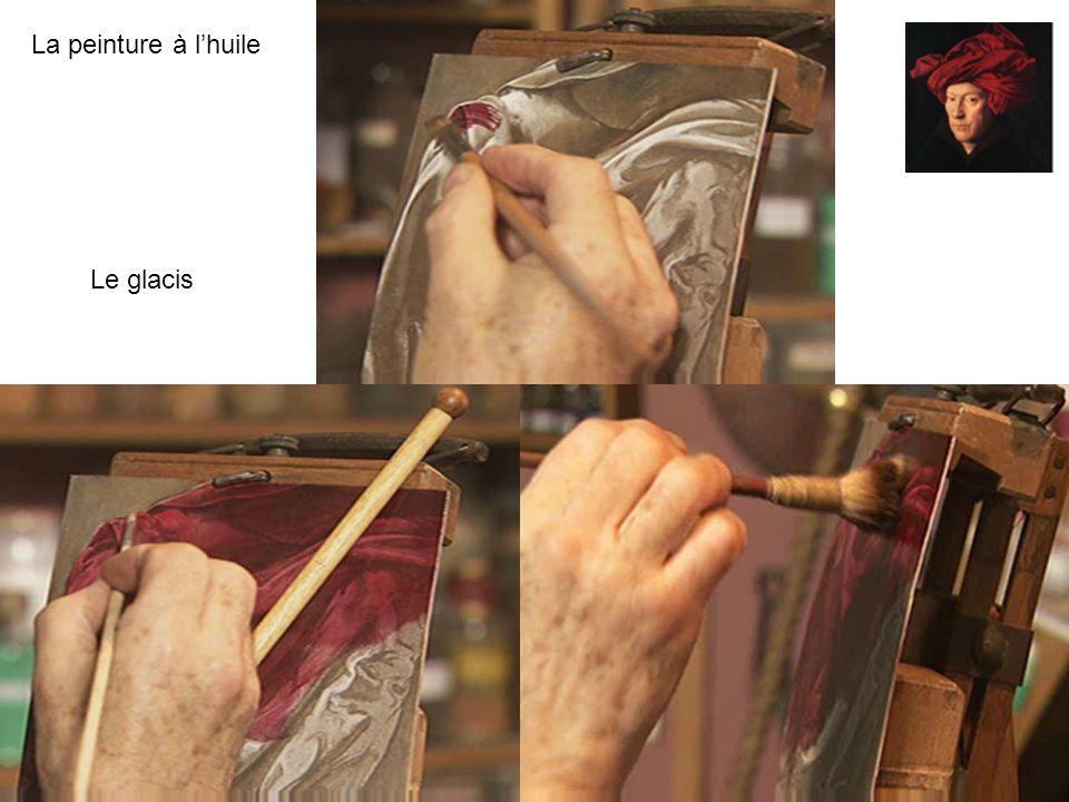 La peinture à lhuile Rc-coupvrayRc-coupvray - Guy BraunGuy Braun 9 La méthode Van Eyck Elle reprend les vertus de la détrempe en lassociant à lhuile.
