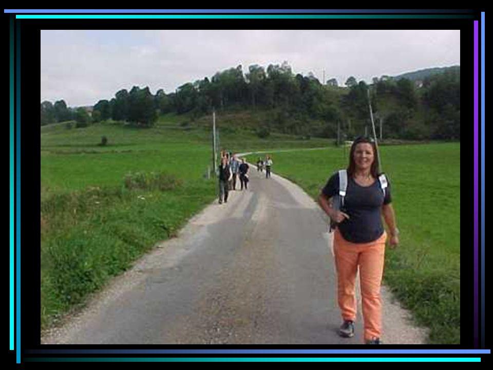 On descend dans la rue des Lavaux et observons le ruisseau qui est à demi-caché par des passerelles ou des terrasses….
