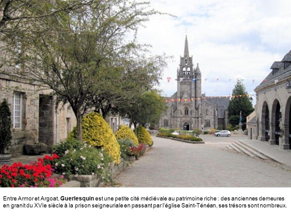 Daoulas est une petite commune réputée pour son abbaye, fondée au VIIe siècle. Elle témoigne de l'art breton des siècles passés.