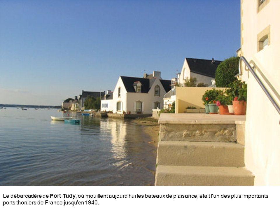 Non loin de Paimpol, le petit port de Loguivy de la Mer est réputé pour ses coquilles Saint-Jacques. A noter : son église est surmontée... d'un poisso