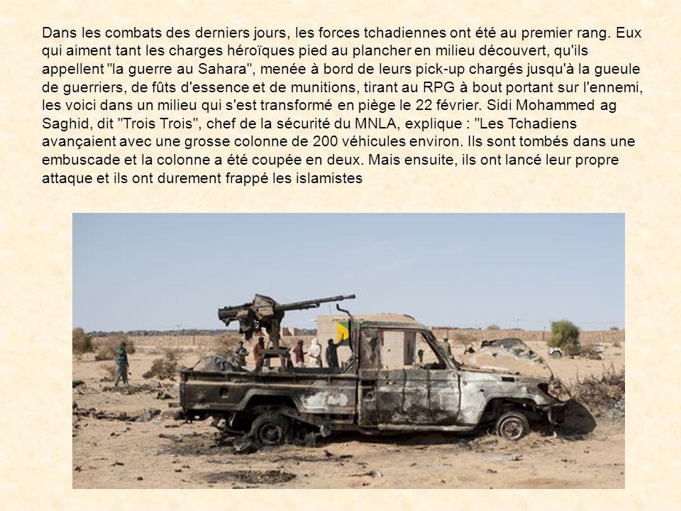 Un notable d'Aguelhok, de passage à Kidal, témoigne de l'importance des opérations en cours :