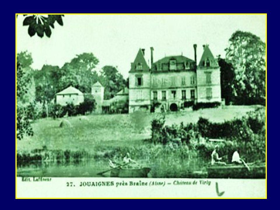 De Jouaignes dans lAisne près de Soissons, il écrit à ses parents le 20 octobre 1914 pour les remercier de lui avoir envoyé un colis avec des gants, d