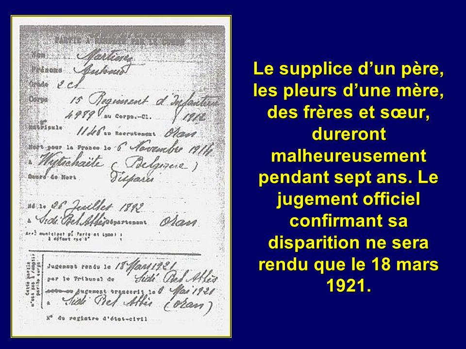 A larrière, en Algérie comme en métropole la presse informe le public en exaltant le patriotisme, mais les familles connaissent grâce aux lettres écri