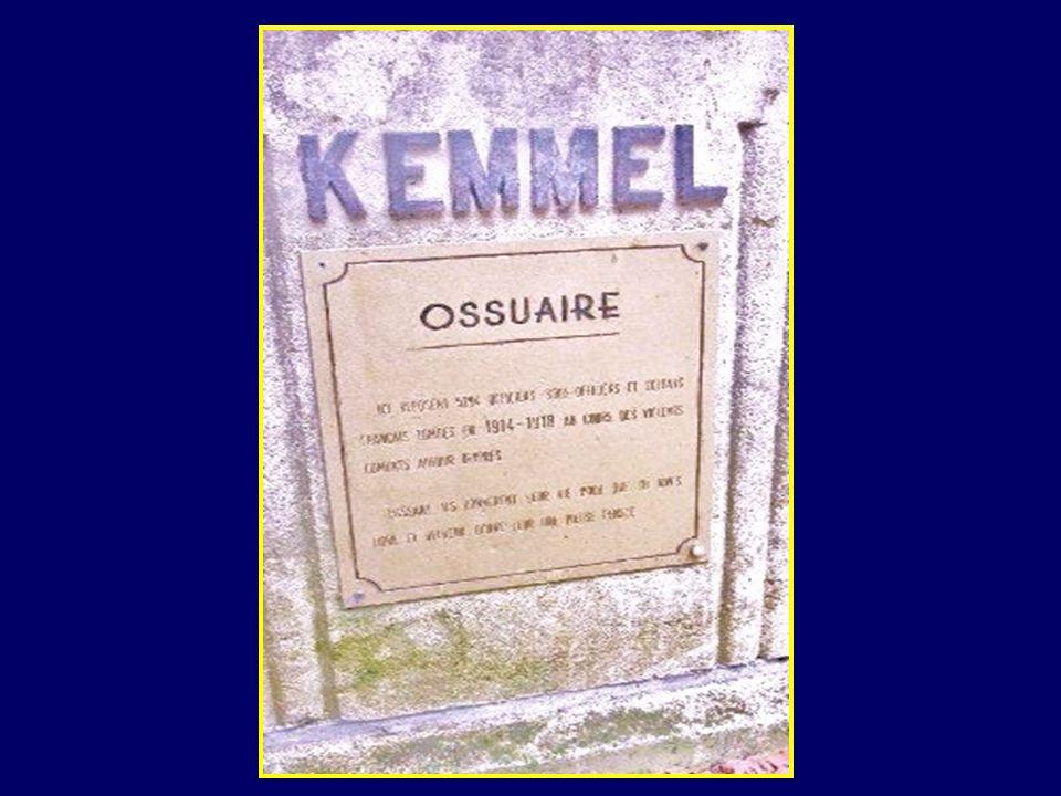 On sait maintenant quil a été tué dans un corps à corps sur la route de Kemmel à Wytschaete et quil na disparu que faute de motivation de la part de c
