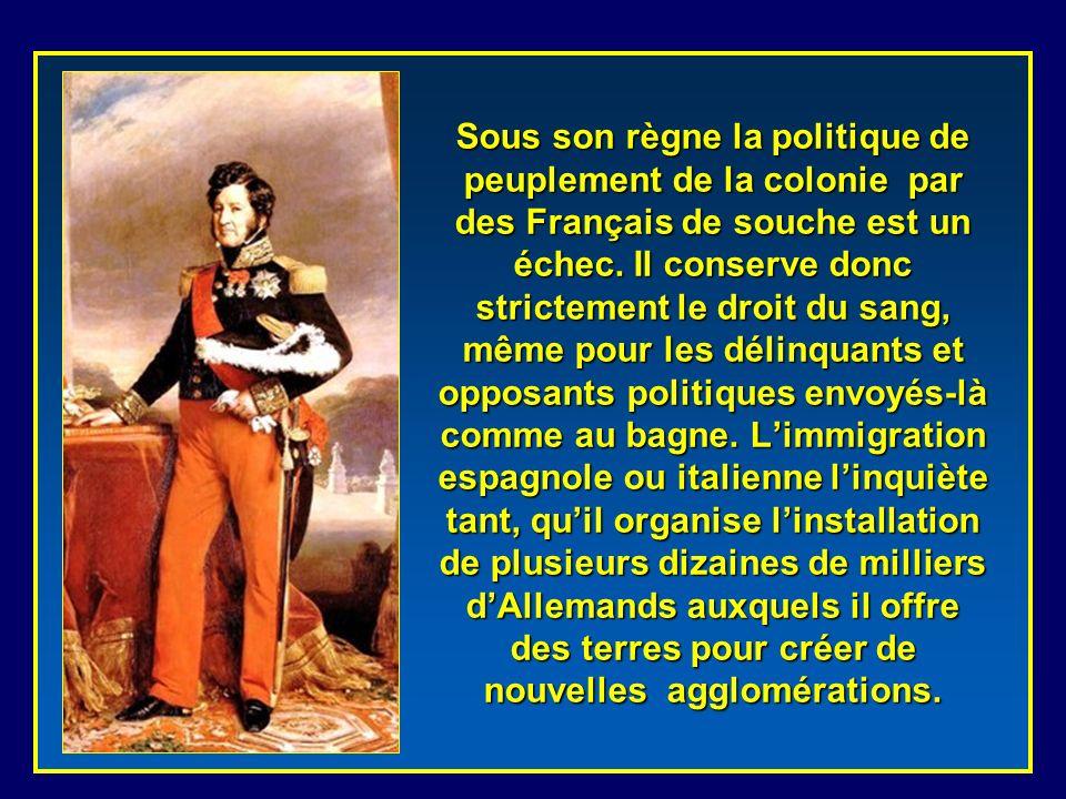 La conquête et la colonisation de ce que la France nommera plus tard Algérie, nest que la réalisation dun projet monarchique commencé par Charles X et