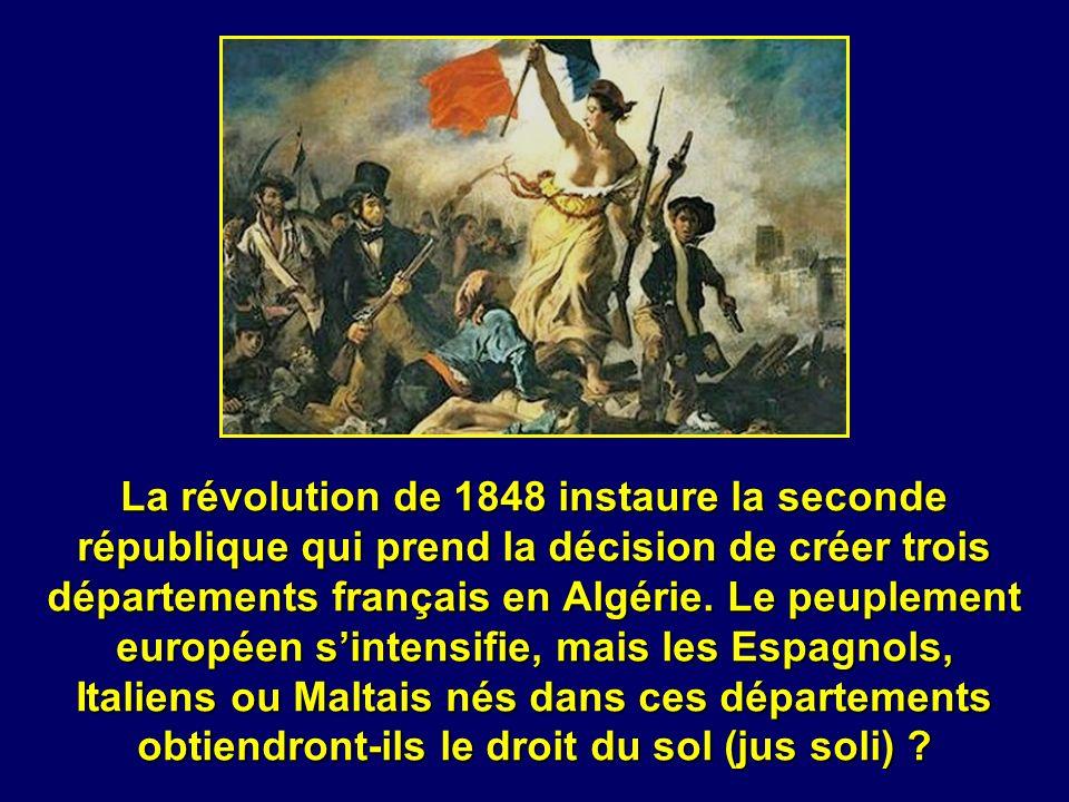 Sous son règne la politique de peuplement de la colonie par des Français de souche est un échec. Il conserve donc strictement le droit du sang, même p