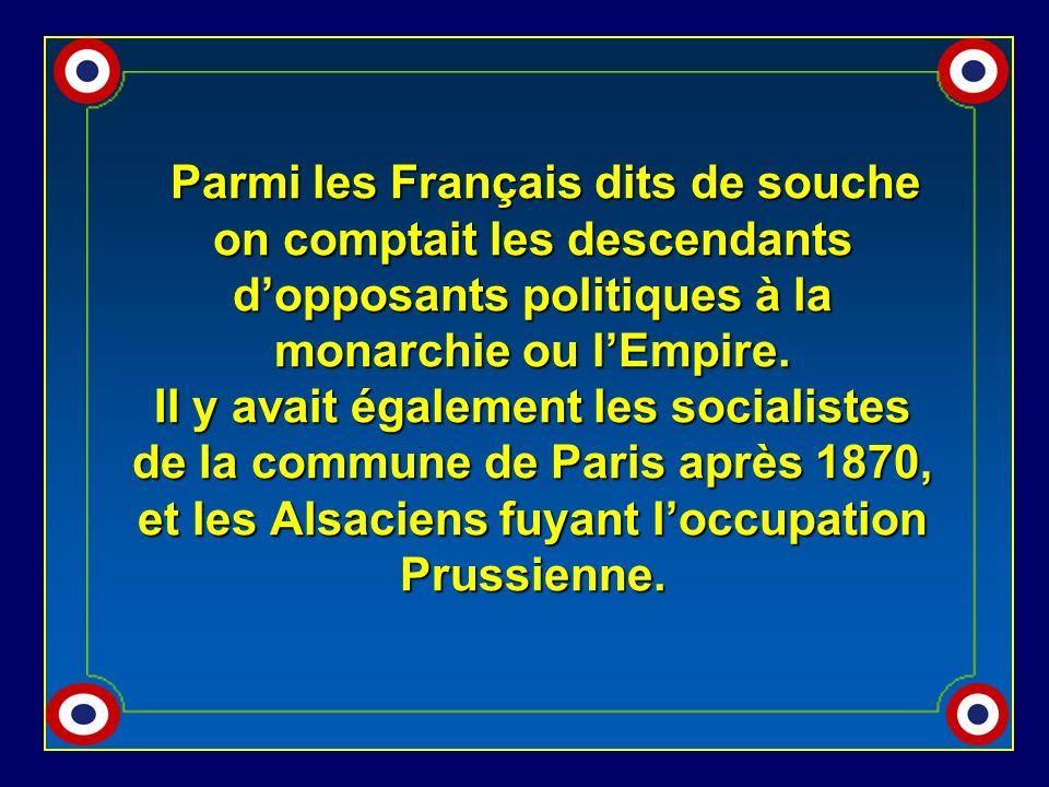 Dans le département dOran la plupart des nouveaux Français ayant profité de la loi du 26 juin 1889 (JO du 28.06.1889) descendaient de Parents espagnol
