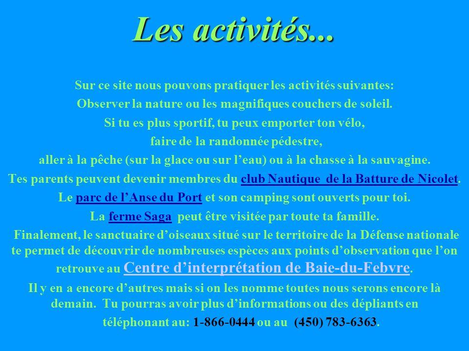 Les villages et les villes autour du Lac Saint-Pierre Voici les municipalités qui longent les rives du Lac St- Pierre: Sorel, Maskinongé, Louiseville,
