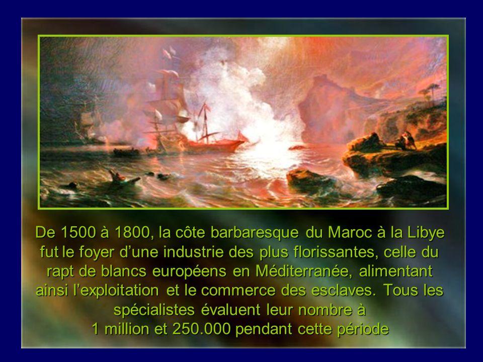 Barbaresques et esclavage des Blancs Création de Claude Jacquemay