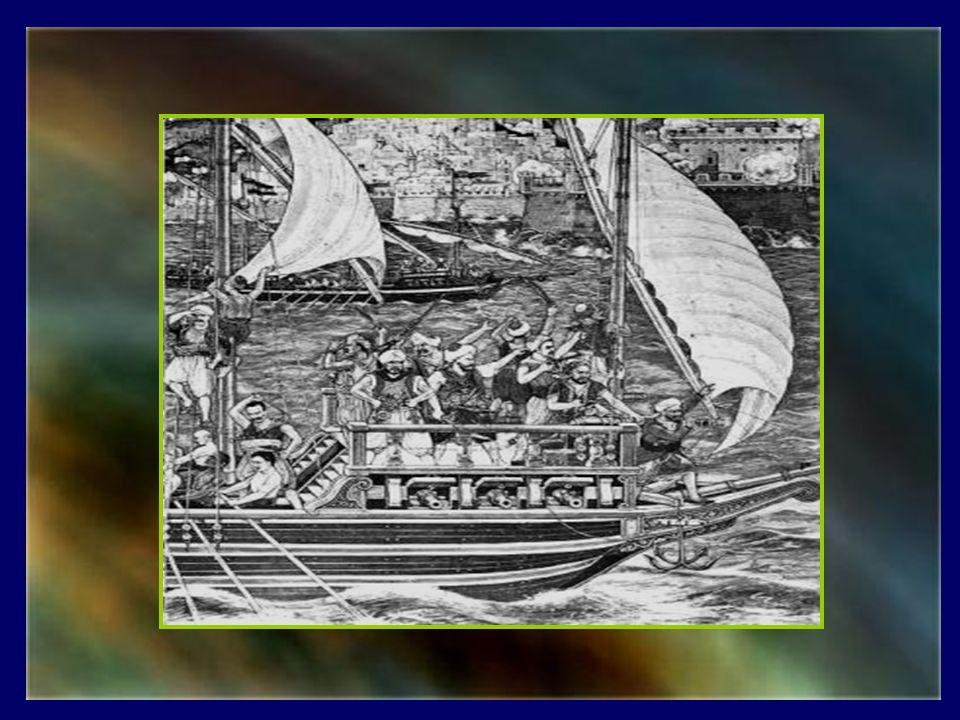 De 1500 à 1800, la côte barbaresque du Maroc à la Libye fut le foyer dune industrie des plus florissantes, celle du rapt de blancs européens en Méditerranée, alimentant ainsi lexploitation et le commerce des esclaves.