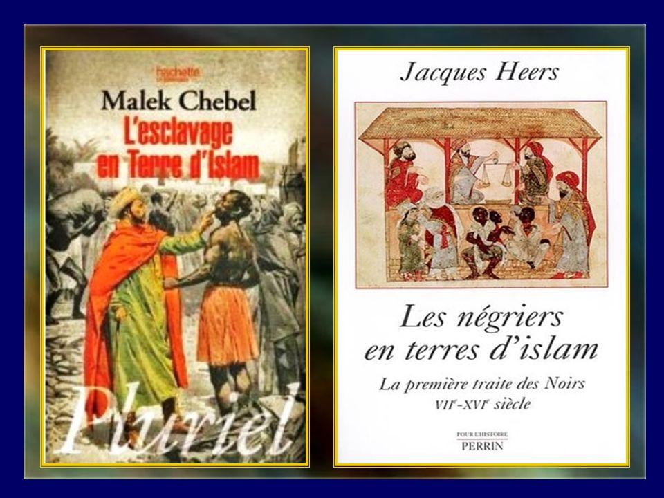 Il convient cependant de rappeler que lesclavage des Chrétiens blancs dEurope a été précédé et poursuivi par celui des noirs dAfrique.