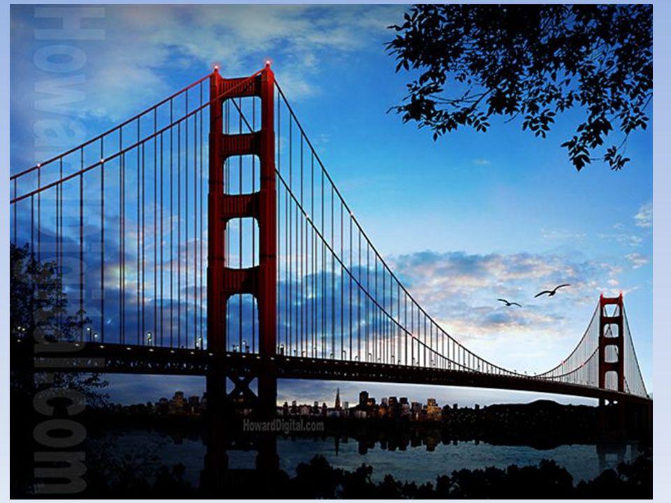 Ce monumental pont suspendu devra relier les deux rives du fleuve.