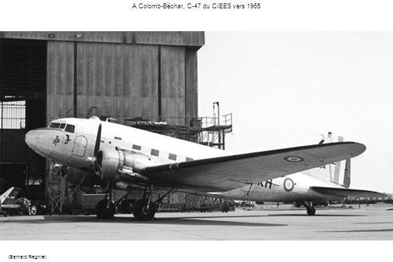 A Colomb-Béchar, C-47 du CIEES vers 1965 (Bernard Regnier)