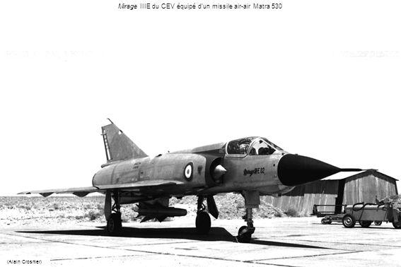 Mirage IIIE du CEV équipé dun missile air-air Matra 530 (Alain Crosnier)