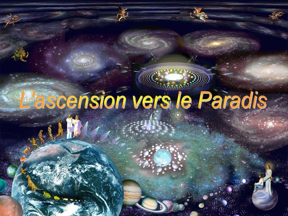 Vous visiterez chacun des mondes et rencontrerez des êtres gracieux dans votre ascension vers le centre, vers le Paradis.