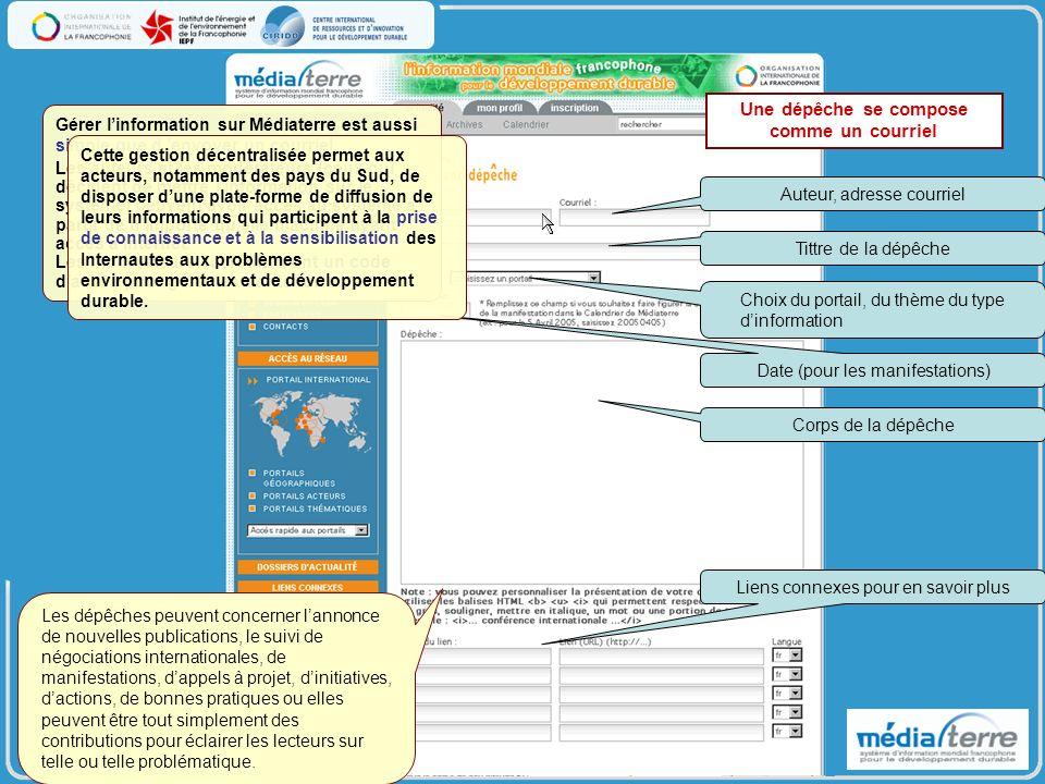 Médiaterre cest : - 23 portails ouverts depuis 2003.