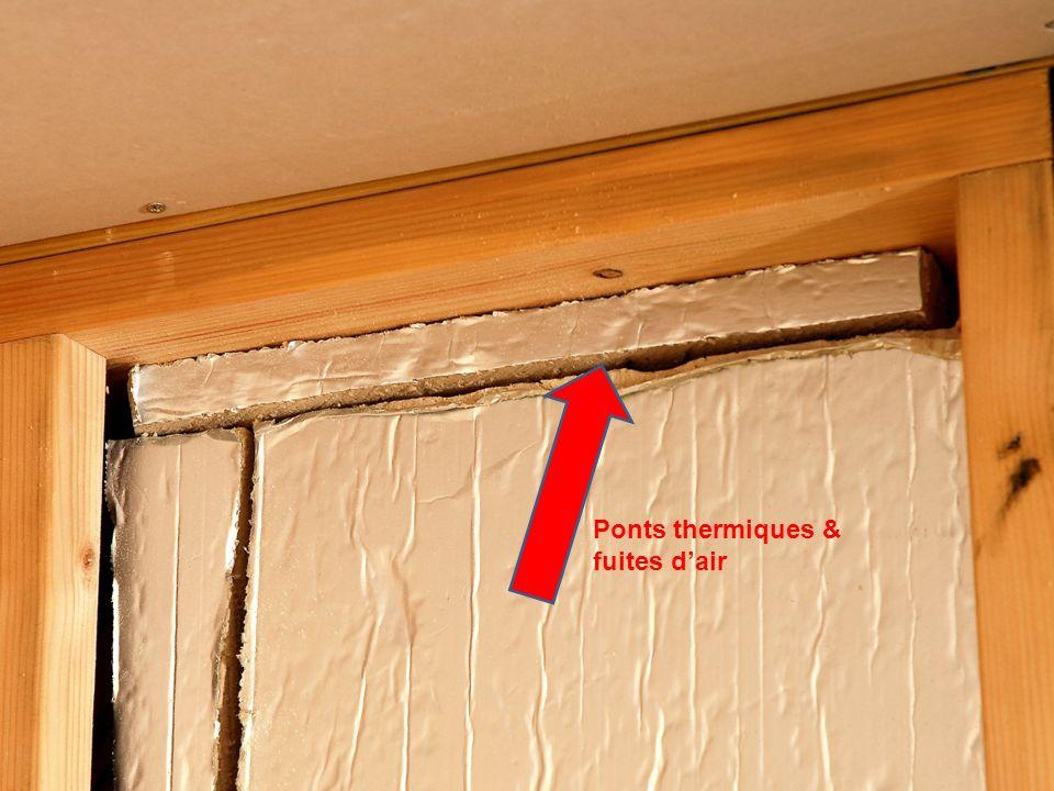 Ponts thermiques & fuites dair