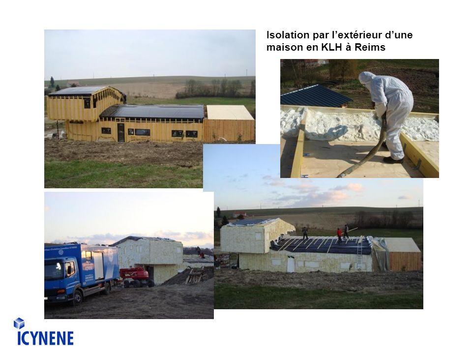 Isolation par lextérieur dune maison en KLH à Reims