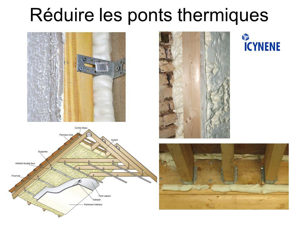 Réduire les ponts thermiques