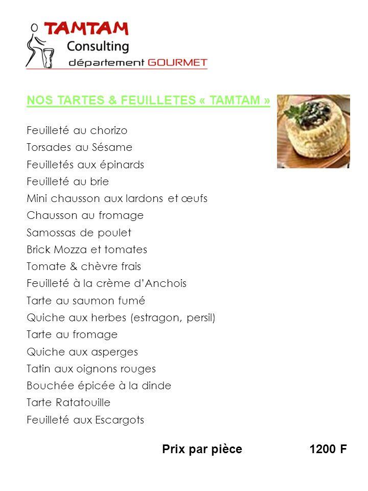 Feuilleté au chorizo Torsades au Sésame Feuilletés aux épinards Feuilleté au brie Mini chausson aux lardons et œufs Chausson au fromage Samossas de po