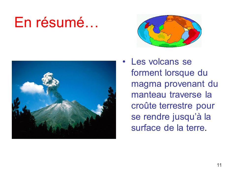 10 Les volcans