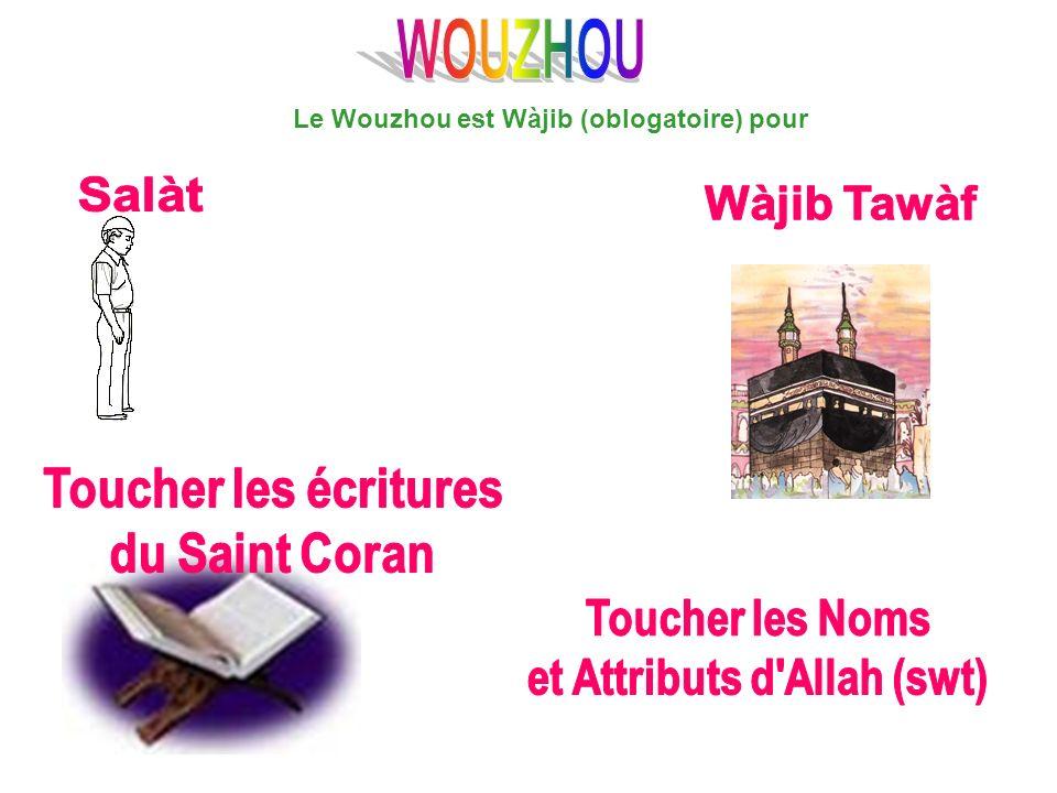 Le Wouzhou est Wàjib (oblogatoire) pour