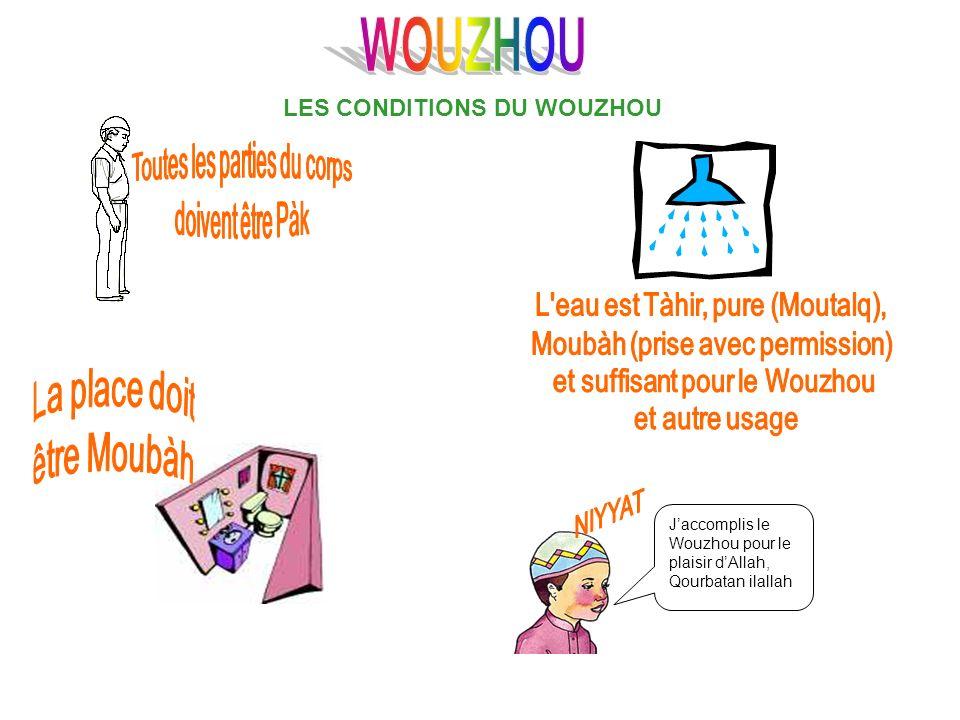 LES CONDITIONS DU WOUZHOU