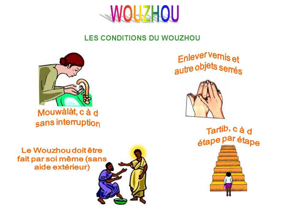 Les actions Sounnat dans le Wouzhou