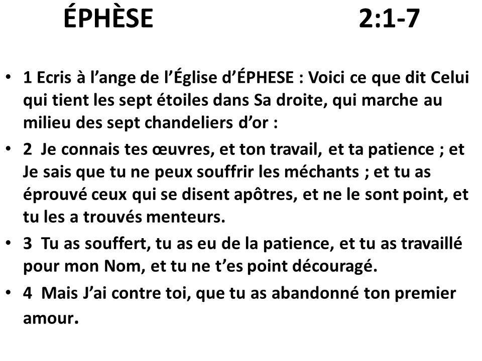 QUE JÉSUS PENSE DE LÉGLISE.POURQUOI PAS 8 ÉGLISES, 9,… .