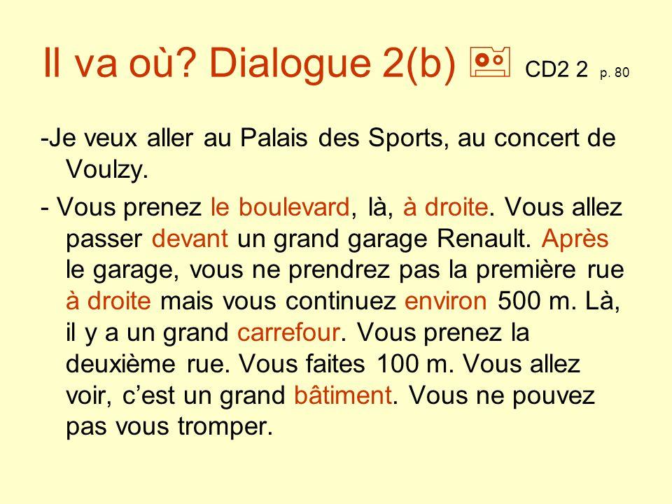 Ma ville CD2 3 p.82 Expressions En banlieue Au centre ville Rue….