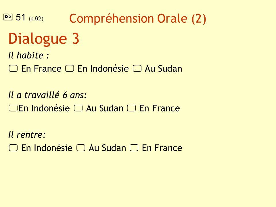 Compréhension Orale Transcription Dialogue 1 -Vous venez doù.