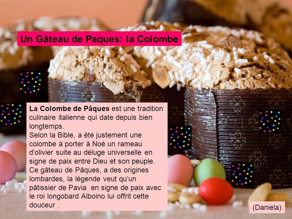 La Colombe de Pâques est une tradition culinaire italienne qui date depuis bien longtemps. Selon la Bible, a été justement une colombe à porter à Noé