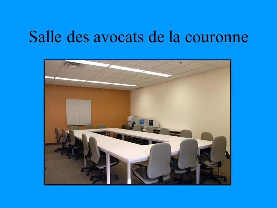 Salle des avocats de la couronne
