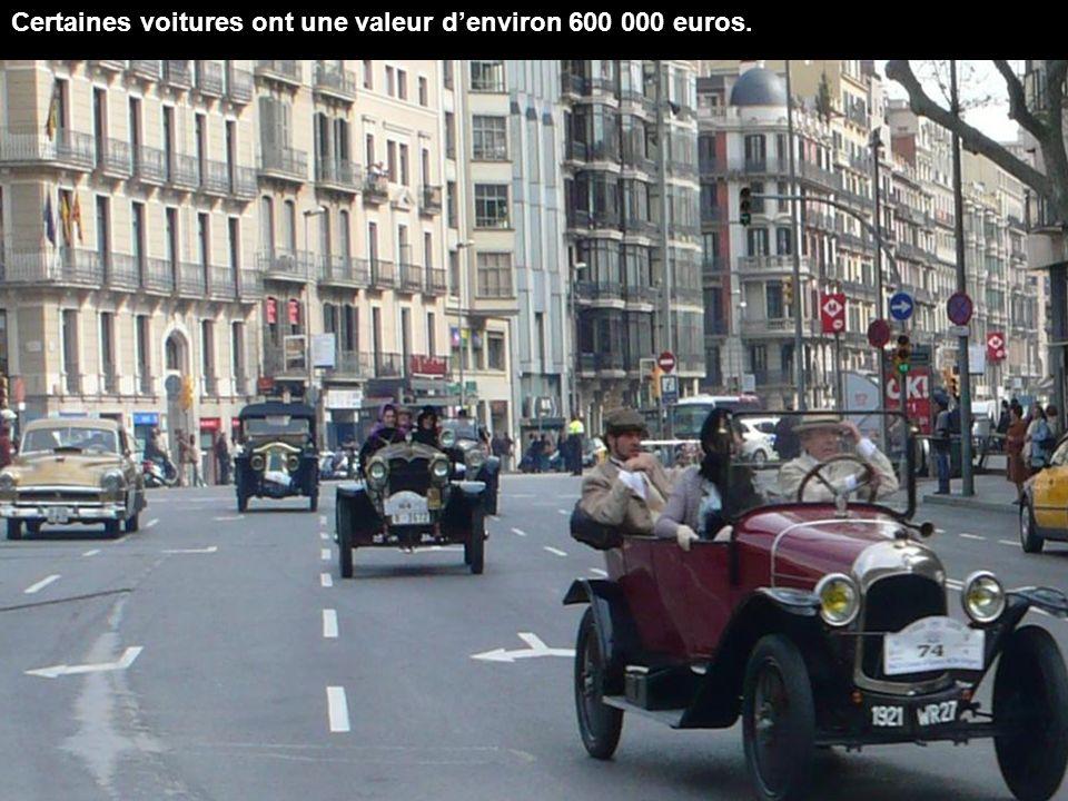 Les véhicules seront exposés jusquà 13h30, heure à laquelle ils feront le tour de la ville de Sitges.