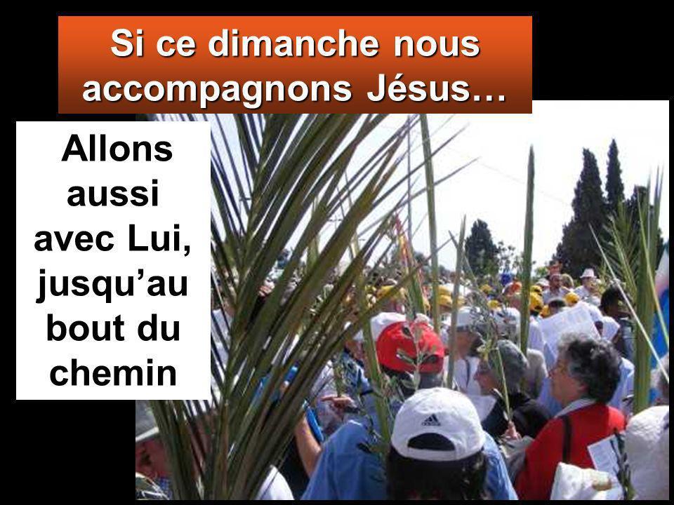 Ils disaient : «Béni soit celui qui vient, le roi, au nom du Seigneur.