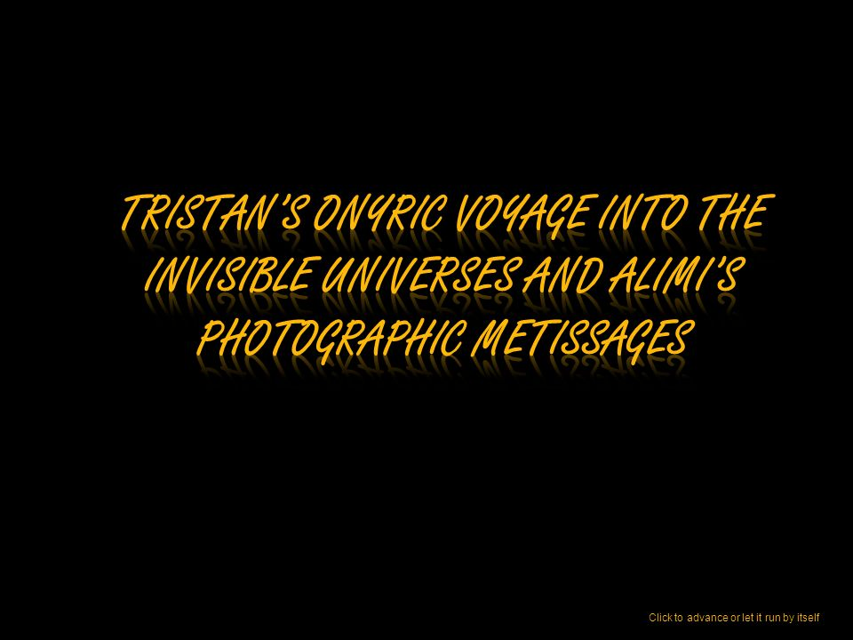 Frederick Tristan Writer and Graphic Artist My first words as a teacher warned my students that iconology is not the study of images but of invisible signs nestling in the secrecy of images.