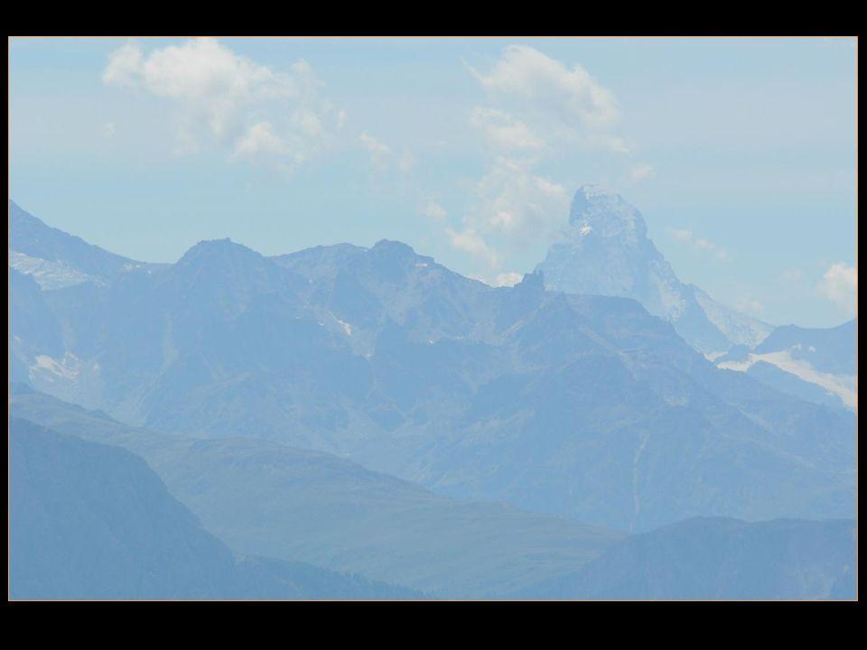notre ami le Cervin est aussi visible depuis Fiescheralp