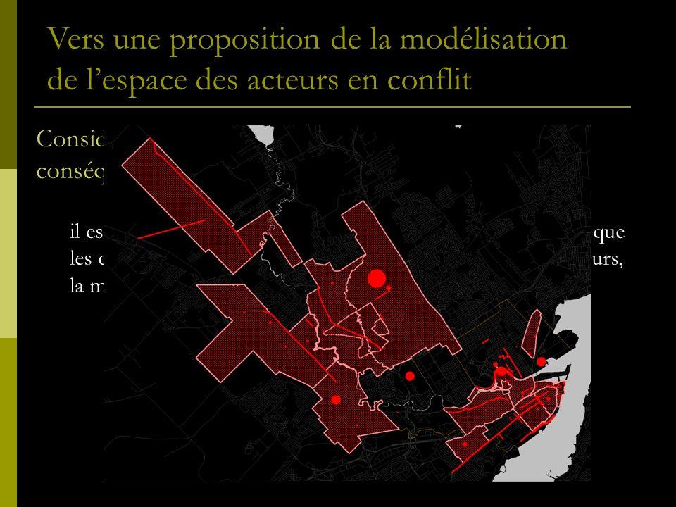 Considération 2: Lespace de laction ou lespace des conséquences propre à chaque décision territoriale .