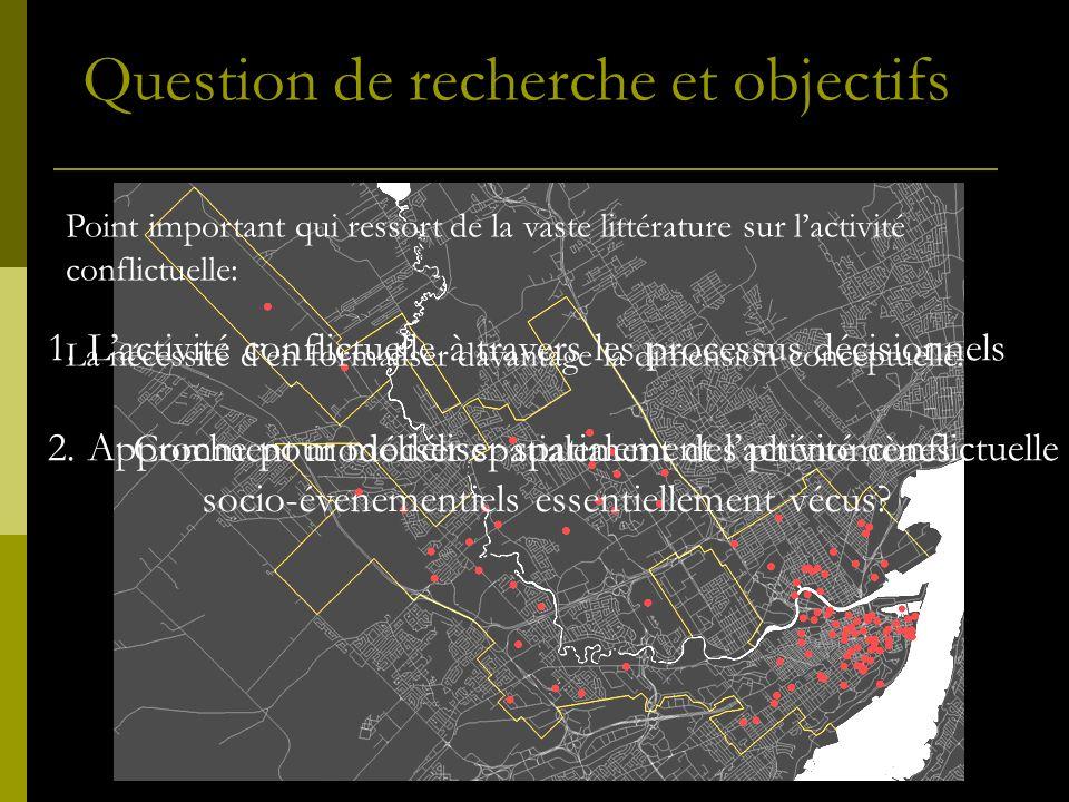 Comment modéliser spatialement des phénomènes socio-évenementiels essentiellement vécus.
