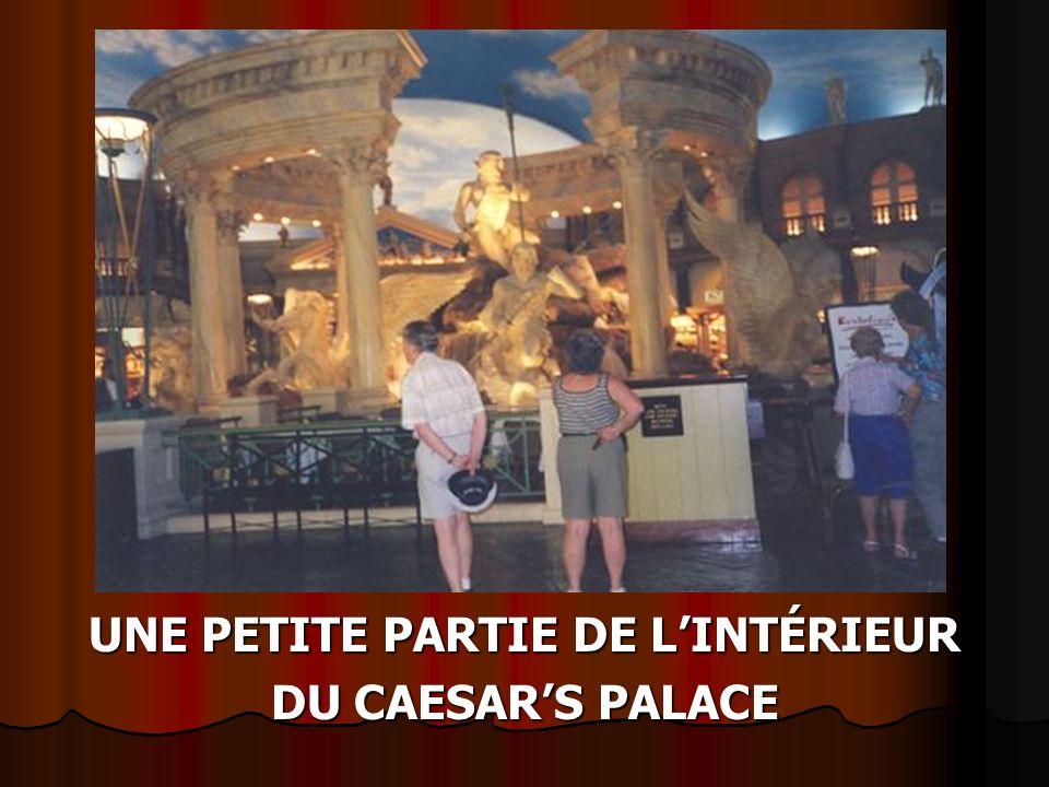 HÔTEL CASINO « CAESARS PALACE » LÀ OÙ CÉLINE DION A CHANTÉ PENDANT 5 ANS, 3370 CHAMBRES AVANT CÉLINE D.