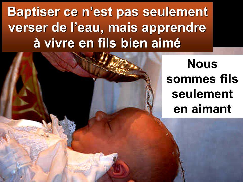 baptisez-les au nom du Père, du Fils et du Saint-Esprit,