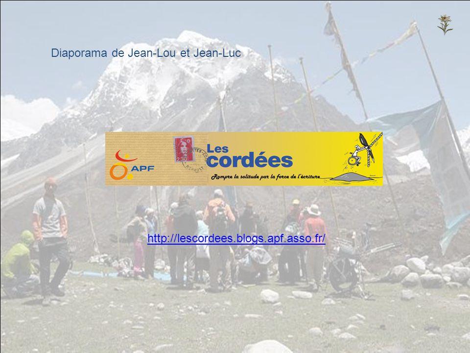 Diaporama de Jean-Lou et Jean-Luc http://lescordees.blogs.apf.asso.fr/