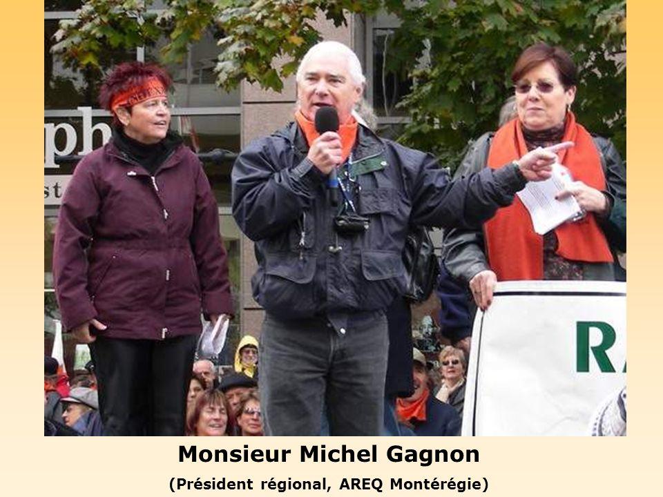 Monsieur Jean-Paul Sarrazin (Président, provincial de lAQDER)