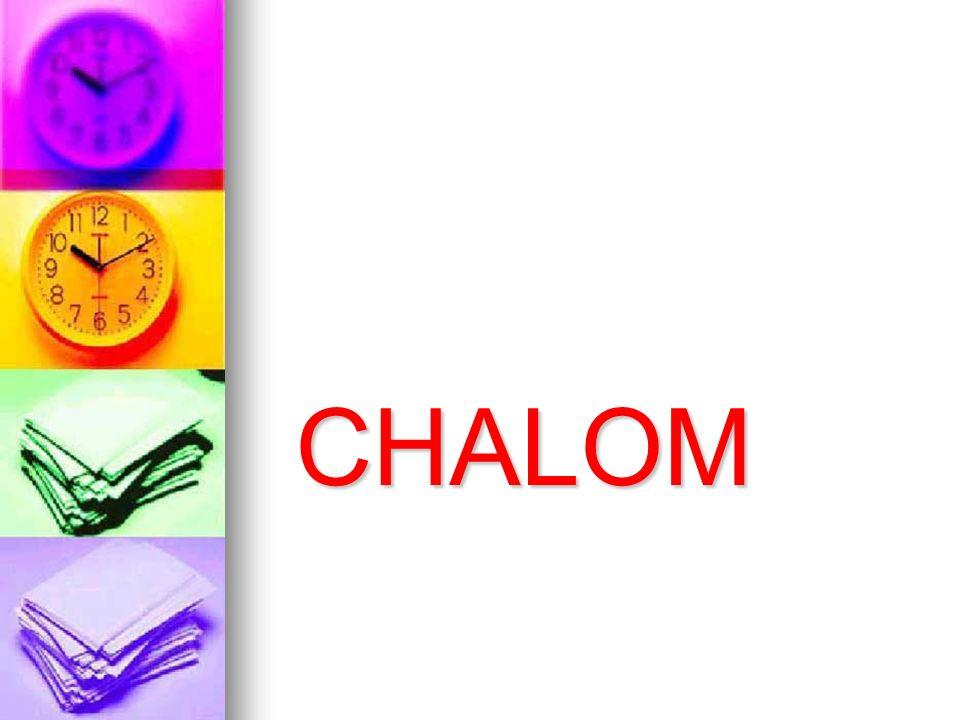 CHALOM CHALOM