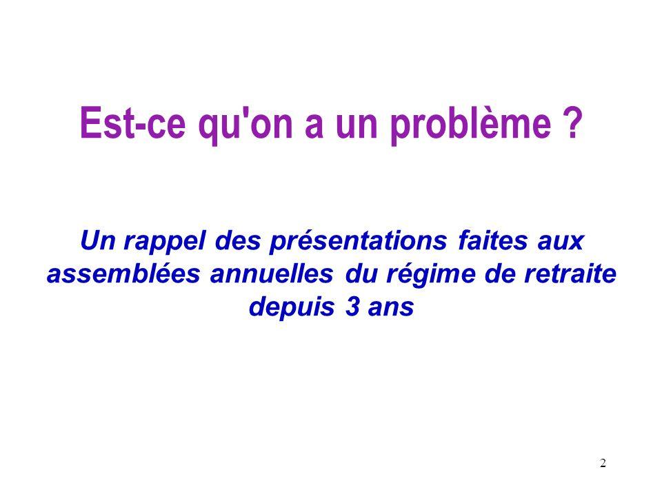 33 Références Le risque de financement du régime de retraite Morneau Sobeco (2002), Rapport sur le financement du régime.